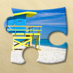 Bright Puzzles: Beaches